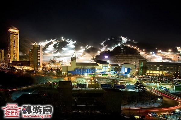 韩国凤凰城度假村滑雪场18
