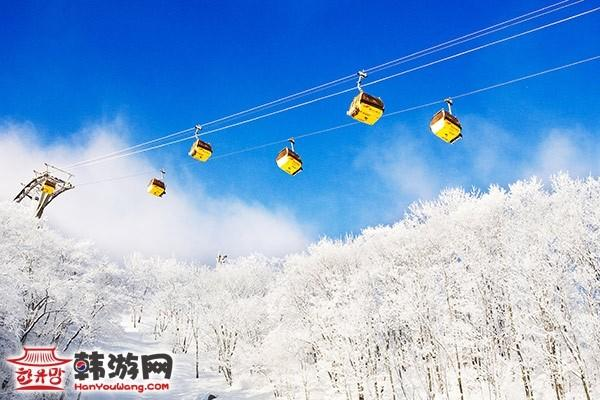 凤凰城度假村滑雪场_韩国景点_韩游网