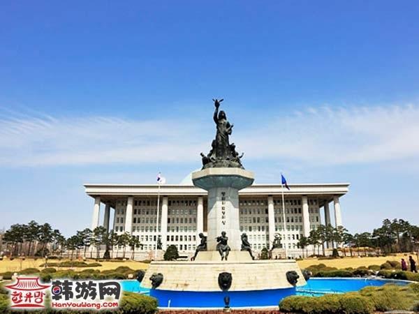 首尔汝矣岛国会议事堂_韩国景点_韩游网