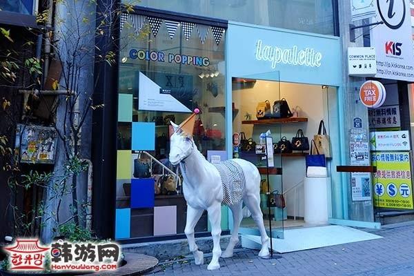 明洞Lapalette小马包店_韩国购物_韩游网