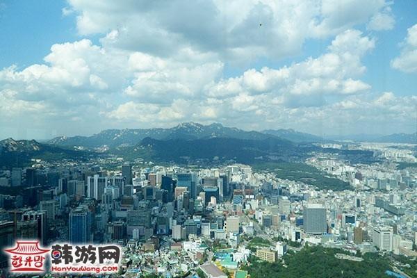 首尔南山塔_N首尔塔_韩国景点_韩游网