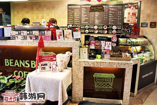东大门BEANSBINS COFFEE咖啡店_韩国美食_韩游网