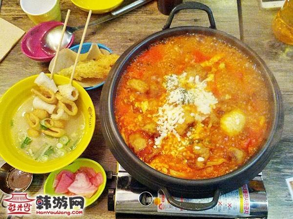 K FOOD EXPRESS以年糕火锅连锁店弘大店4