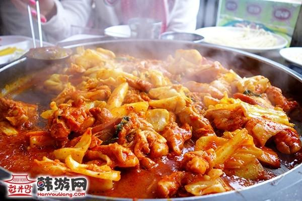 韩国新村春川辣炒鸡排7