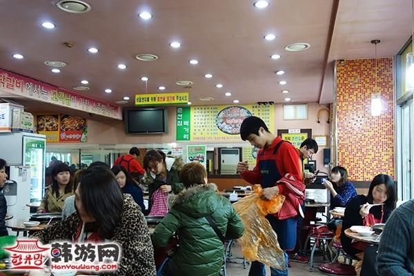 韩国新村春川辣炒鸡排12