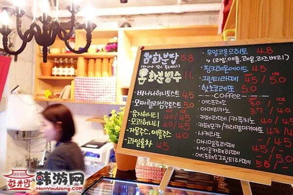 新沙洞banana tree(花盆蛋糕)咖啡馆_韩国美食_韩游网