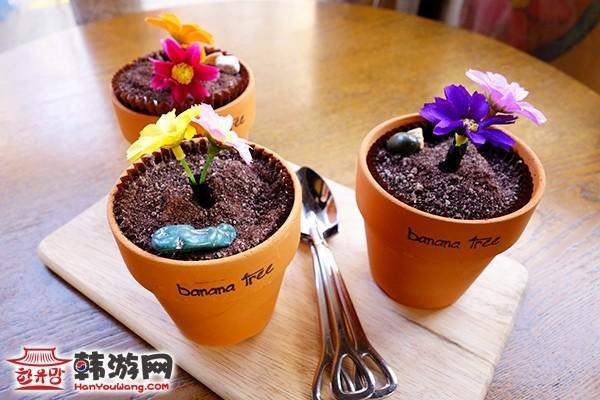 花盆蛋糕banana tree咖啡馆8