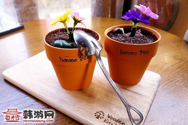 花盆蛋糕banana tree咖啡馆9