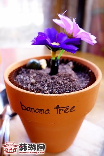 花盆蛋糕banana tree咖啡馆12