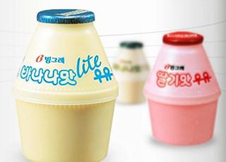 韩国香蕉牛奶