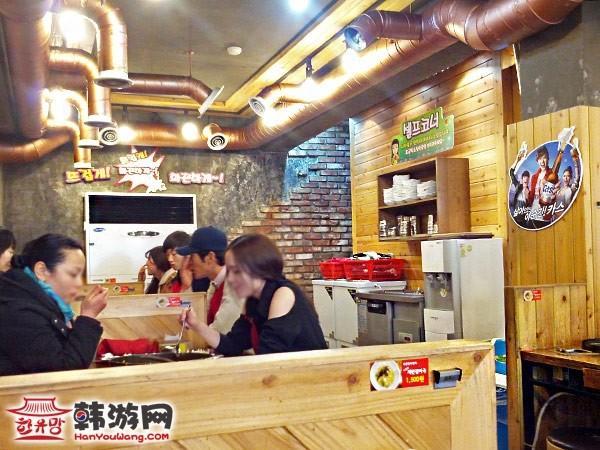 韩国美食柳家鸡排5