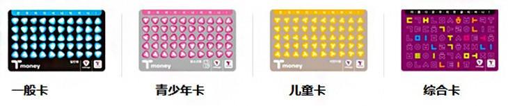 韩国T-money交通卡