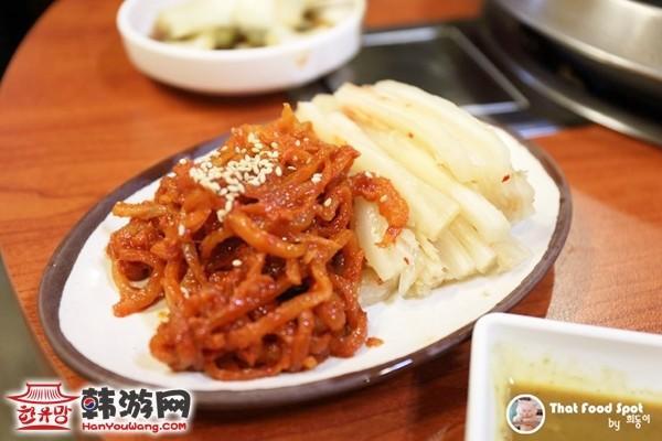 韩国江南手大的富人家小菜