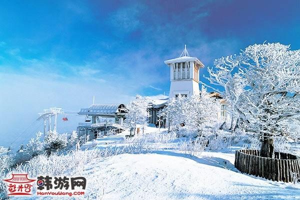 龙平滑雪场(《冬季恋歌》拍摄地)