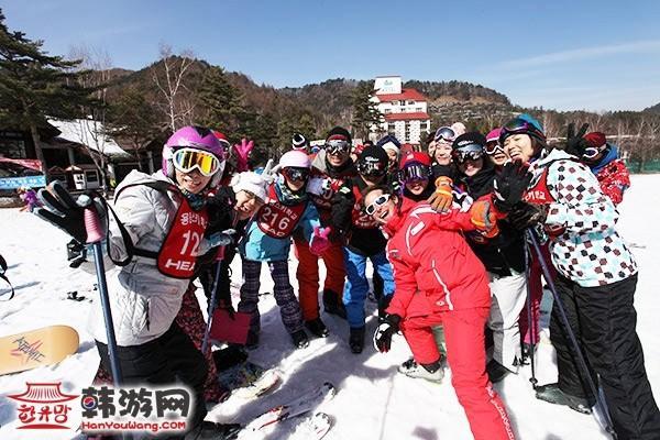 龙平滑雪场(《冬季恋歌》拍摄地)2