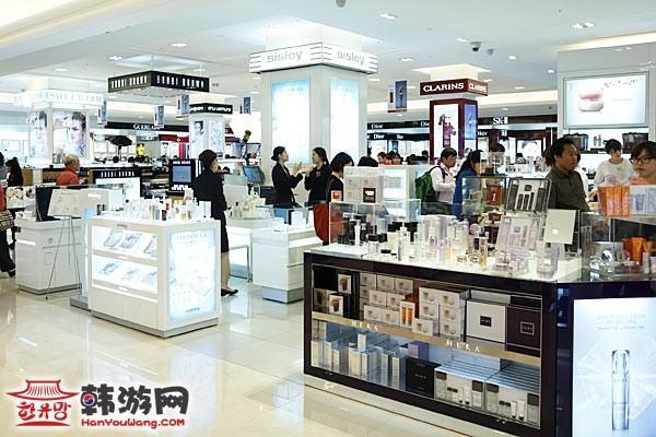 韩国百货店 免税店 名品店