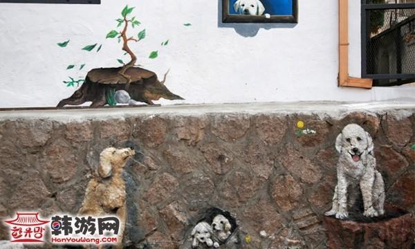 骆山公园、梨花村(壁画村)
