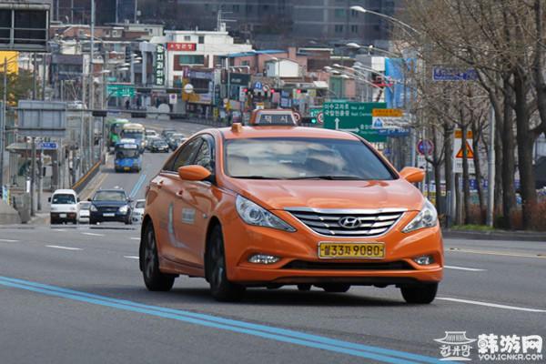韩国出租车 银联卡 首尔 京畿道