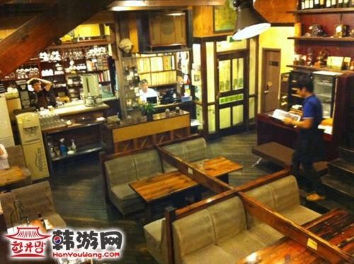 来自星星的你首尔取景点:敏俊和英牧一起喝茶的地方