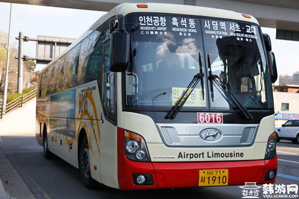 仁川机场 首尔 机场大巴 深夜大巴
