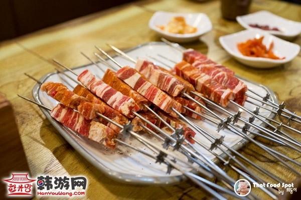 韩国驿三洞藏书羊肉串02