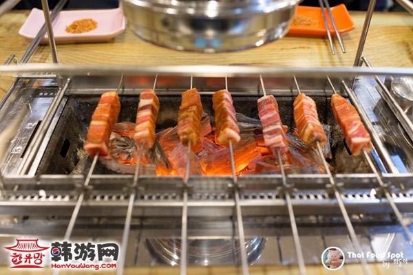 韩国驿三洞藏书羊肉串04