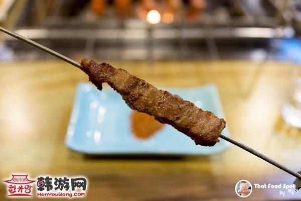 韩国驿三洞藏书羊肉串06
