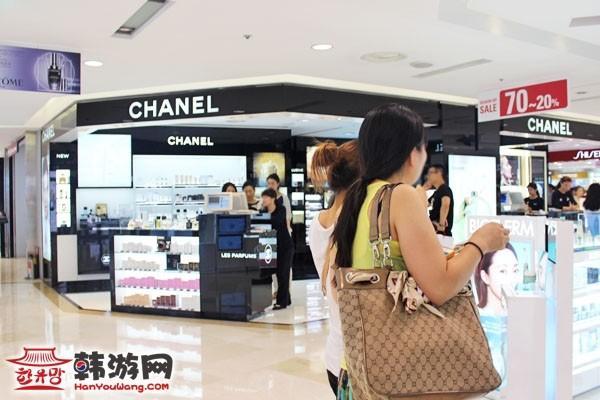 韩国购物 中国游客 旅游警察