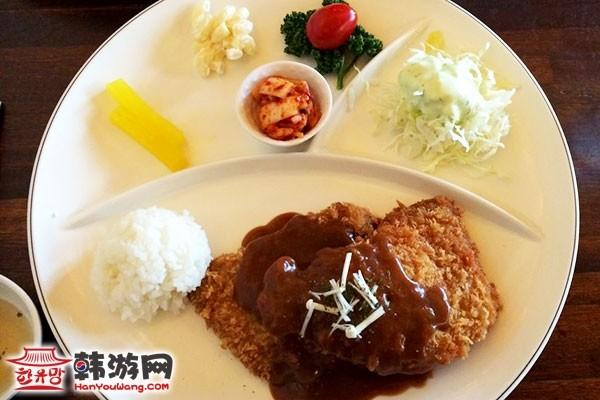 大象炸猪排美食店_韩国美食_韩游网