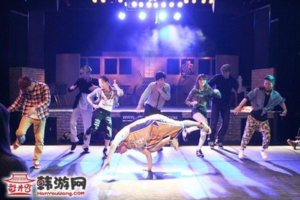 韩国B-Boy KUNGFestival舞蹈表演剧情