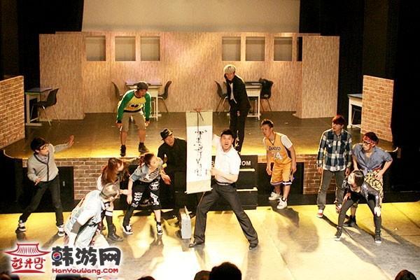 韩国B-Boy KUNGFestival舞蹈表演