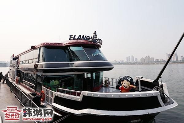 韩国E•LAND(依恋)汉江游览船7