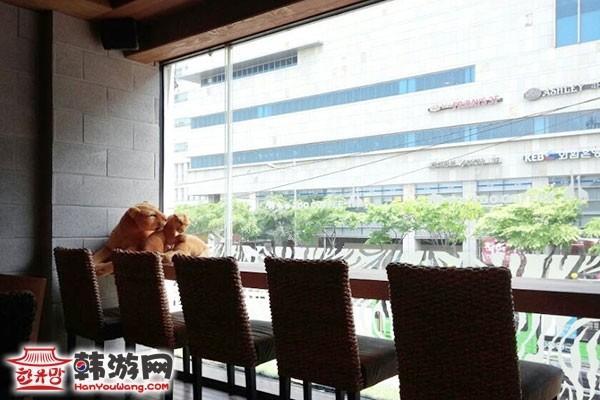 韩国Zoo coffee特色咖啡厅14