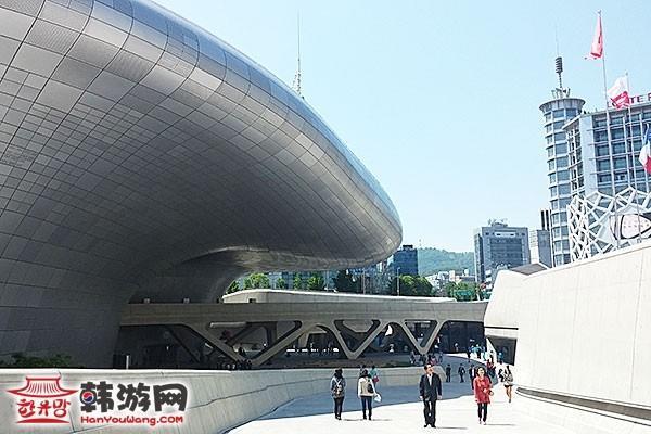 東大門設計廣場DDP_韓國景點_韓遊網