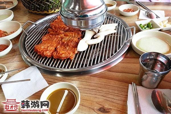 南怡岛山村食堂美食店_韩国美食_韩游网