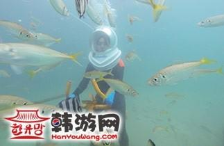 济州岛海底漫步sea walker04
