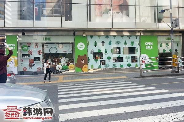"""明洞Line Friends Store""""连我""""人气周边店16"""