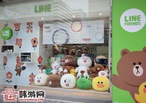 明洞Line Friends Store人气周边店