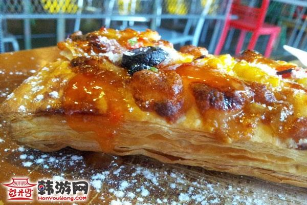明洞PARKING IN PLATE公路上的美食_韩国美食_韩游网