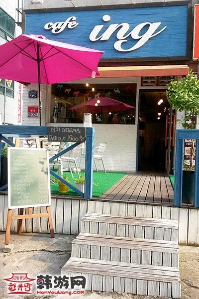 韩国CAFE ING咖啡店01