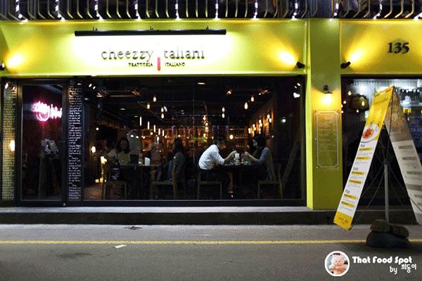 江南站 cheezzy taliani 意大利餐厅_韩国美食_韩游网