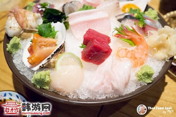 新沙洞Akii日式餐厅10