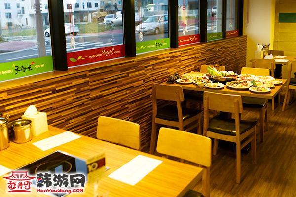 济州岛天海天火锅自助餐厅35