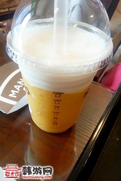 梨大Mango Six咖啡甜点店09