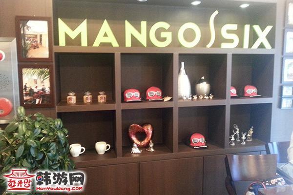 梨大Mango Six咖啡甜点店04
