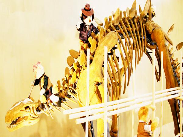庆州泰迪熊博物馆恐龙馆二