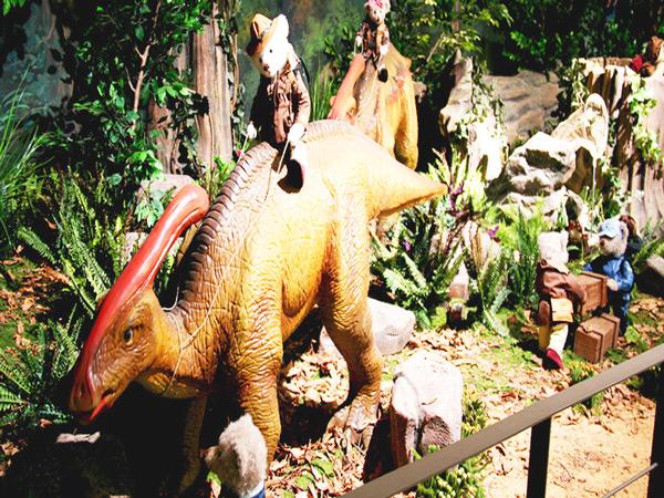 庆州泰迪熊博物馆恐龙馆三