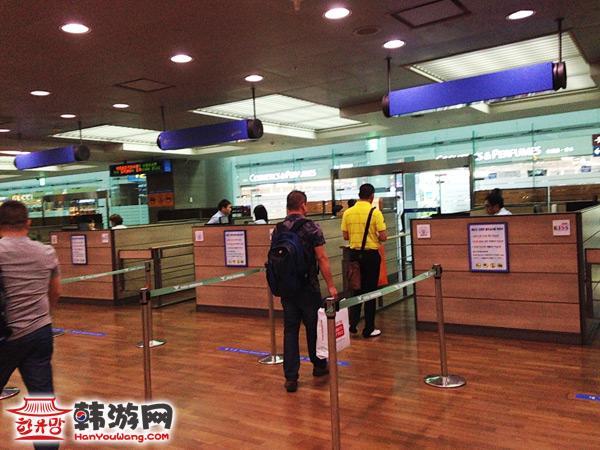 仁川机场出境