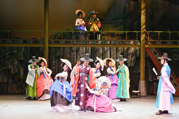 韩国公演美笑