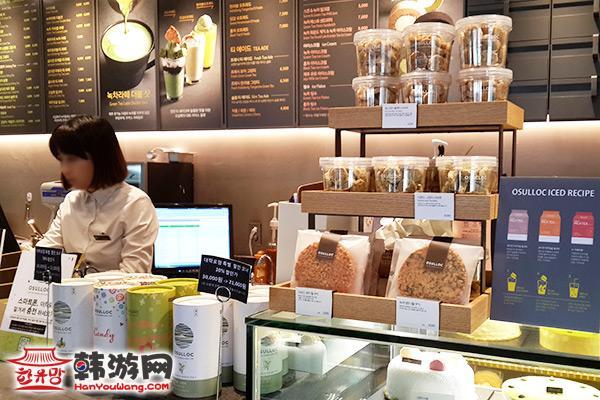 OSULLOC甜品饮品小店02